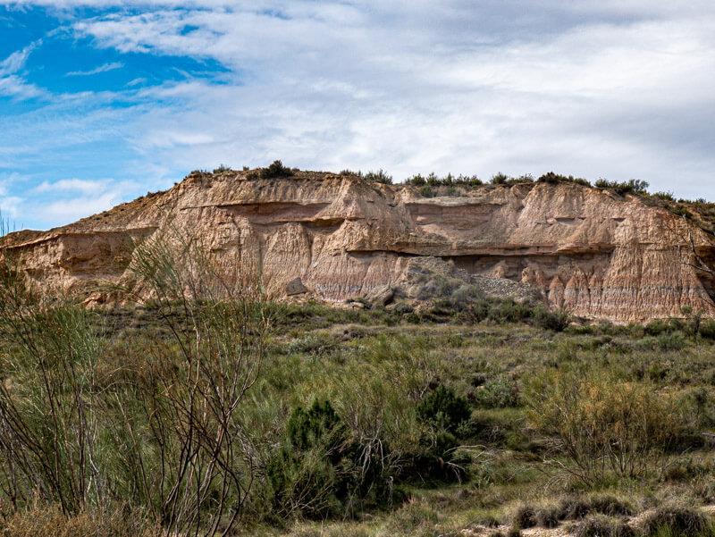 Ruta Jubierre Wandern spanien Aragon gesteinsschichten