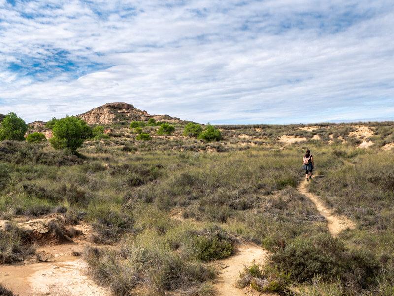 Ruta Jubierre Wandern spanien Aragon landschaft