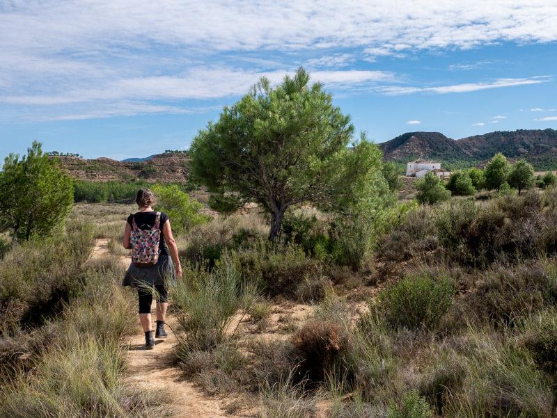Ruta Jubierre Wandern spanien Aragon