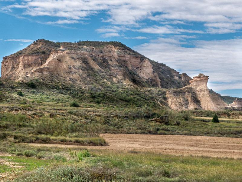 Ruta Jubierre Wandern spanien Aragon paseo tozal de colasico