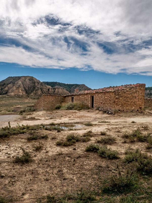Ruta Jubierre Wandern spanien Aragon stall