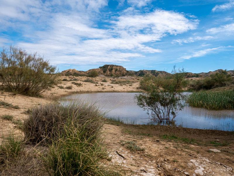Ruta Jubierre Wandern spanien Aragon wasserstelle