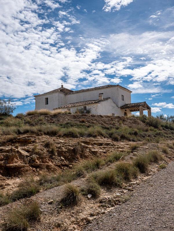 ermita san miguel ruta jubierre los monegros aragon spanien