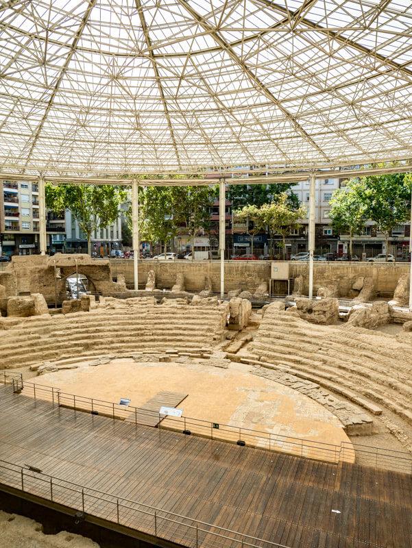 zaragoza saragossa teatro roman museo